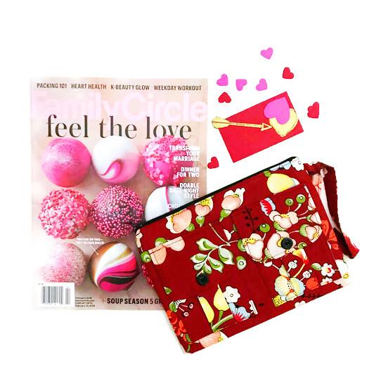 best valentine gift 2018 - wristlet wallets  - red floral print wristlet
