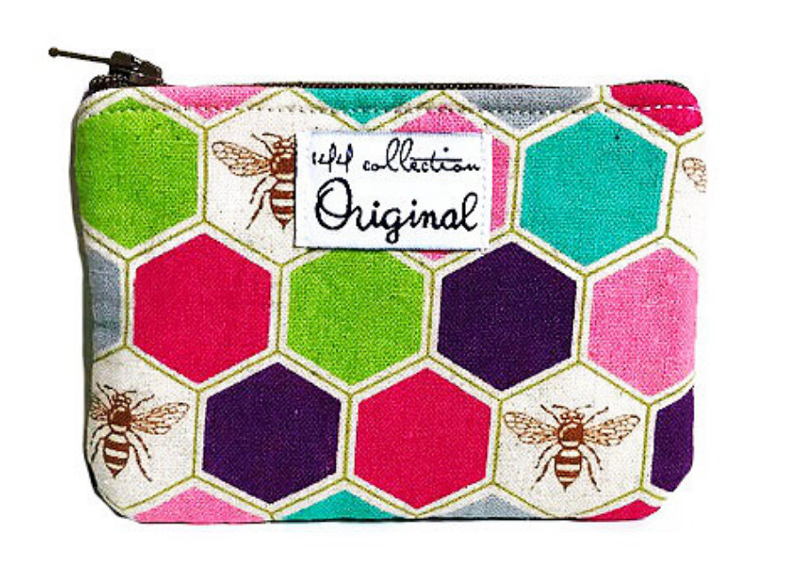 Bee Purse – Handmade clutches and purses by 144 Collection