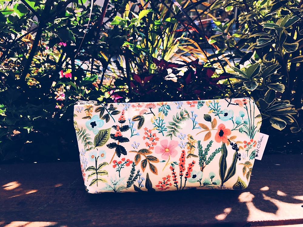 Summer Makeup Bags - Floral Print