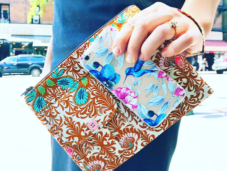 Handmade Wristlets and iPhone Wallets for Women