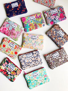 Floral Coin Purse Wallets - Liberty of L