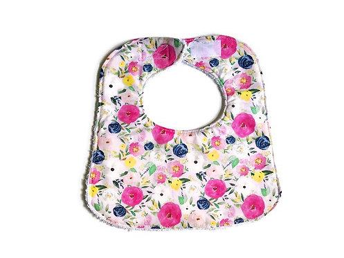 Spring Florals Baby Bib