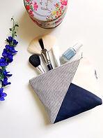 cotton canvas makeup bag - navy blue.JPG
