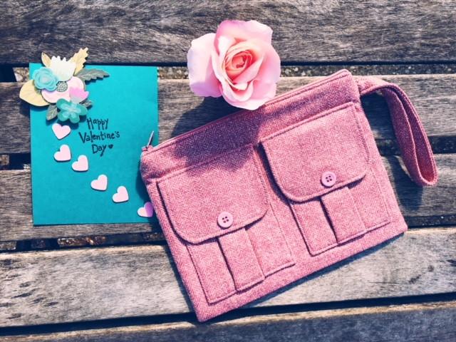 Wristlet Wallets - 2018 Best Valentines Gift for Her - Pink Wristlet