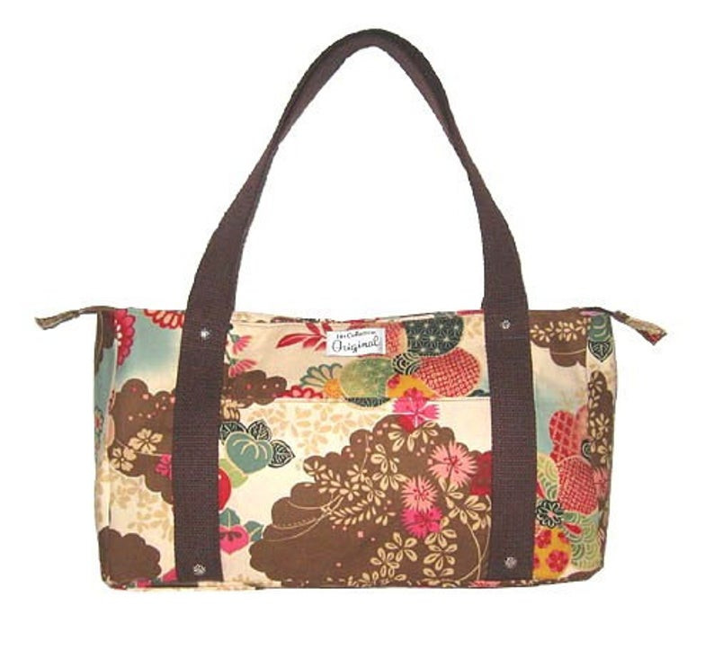 Handmade Tote Bags - Floral Blossom Garden