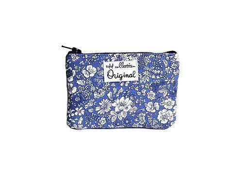 Emily Blue Floral Coin Purse
