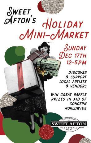 Sweet Afton's Holiday Mini Market, December 17th, 2017