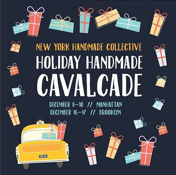 NY Handmade Collective Holiday Handmade Cavalcade 2017