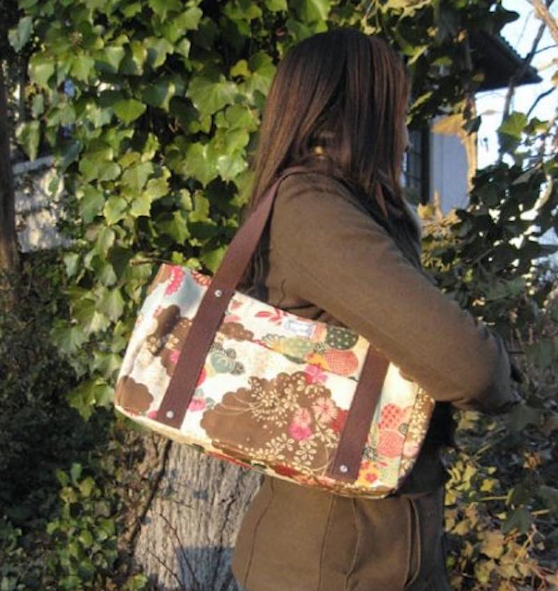 Handmade Bag - Floral Blossoms Tote Bag