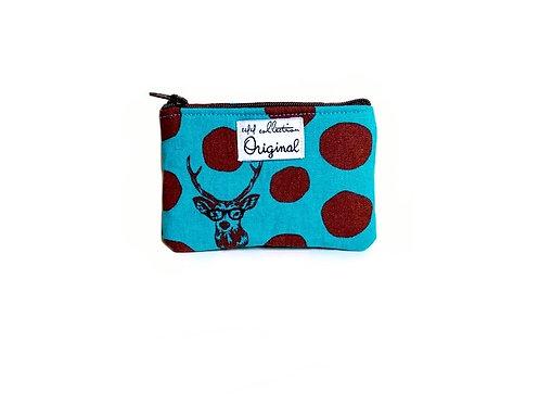 sambar deer coin purse wallet