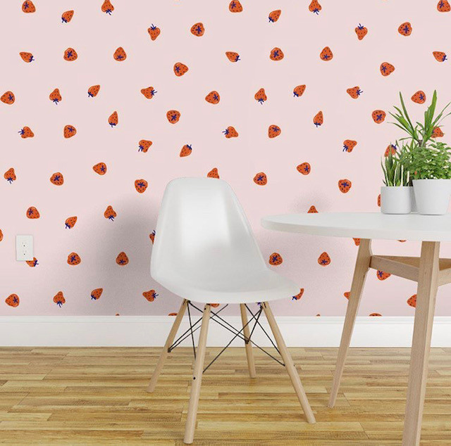 Strawberry Print Gifts - Wallpaper