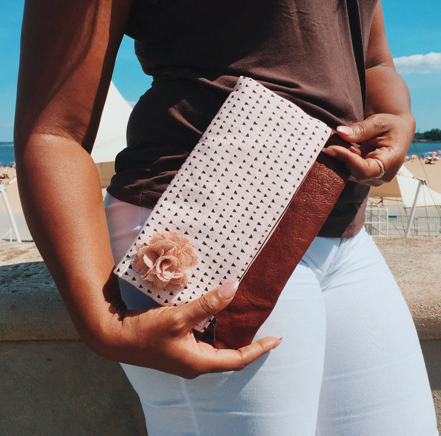 Handmade Clutches - made in the USA in Queens, New York