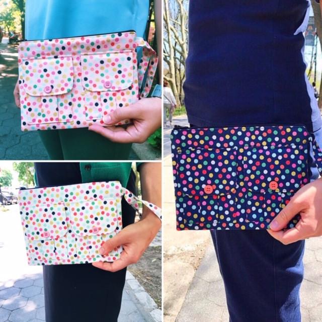 Handmade Wristlets - Polka Dot Prints
