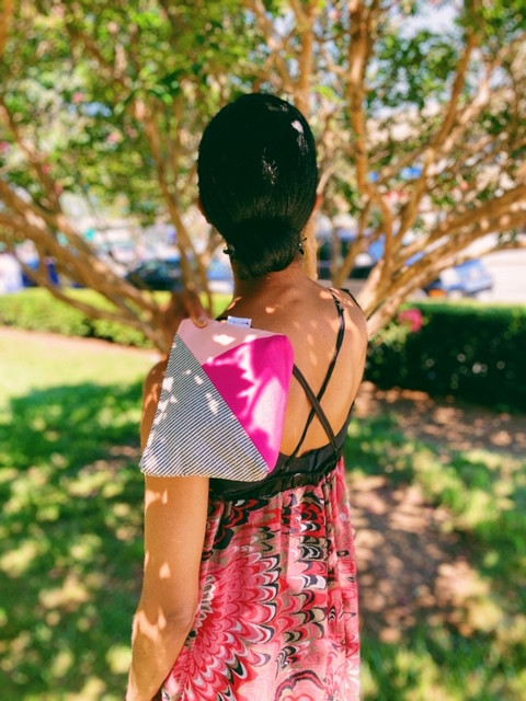 Amazon Prime - Canvas Cosmetic Case Pink and Fuchsia