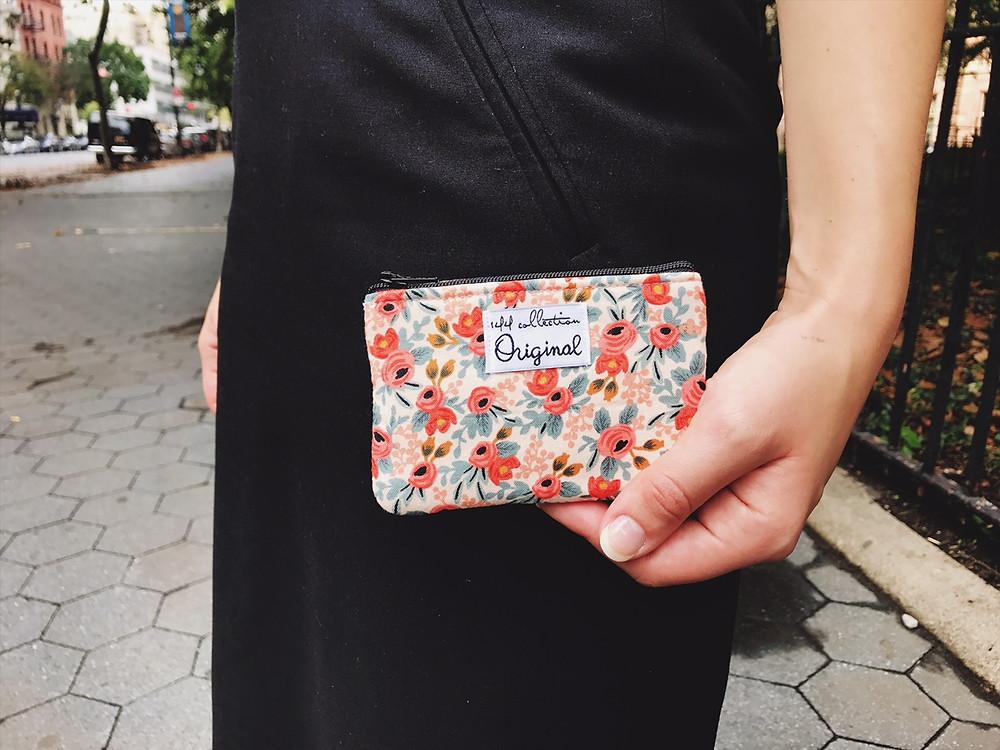 Handmade Fabric Coin Purses - Floral Print