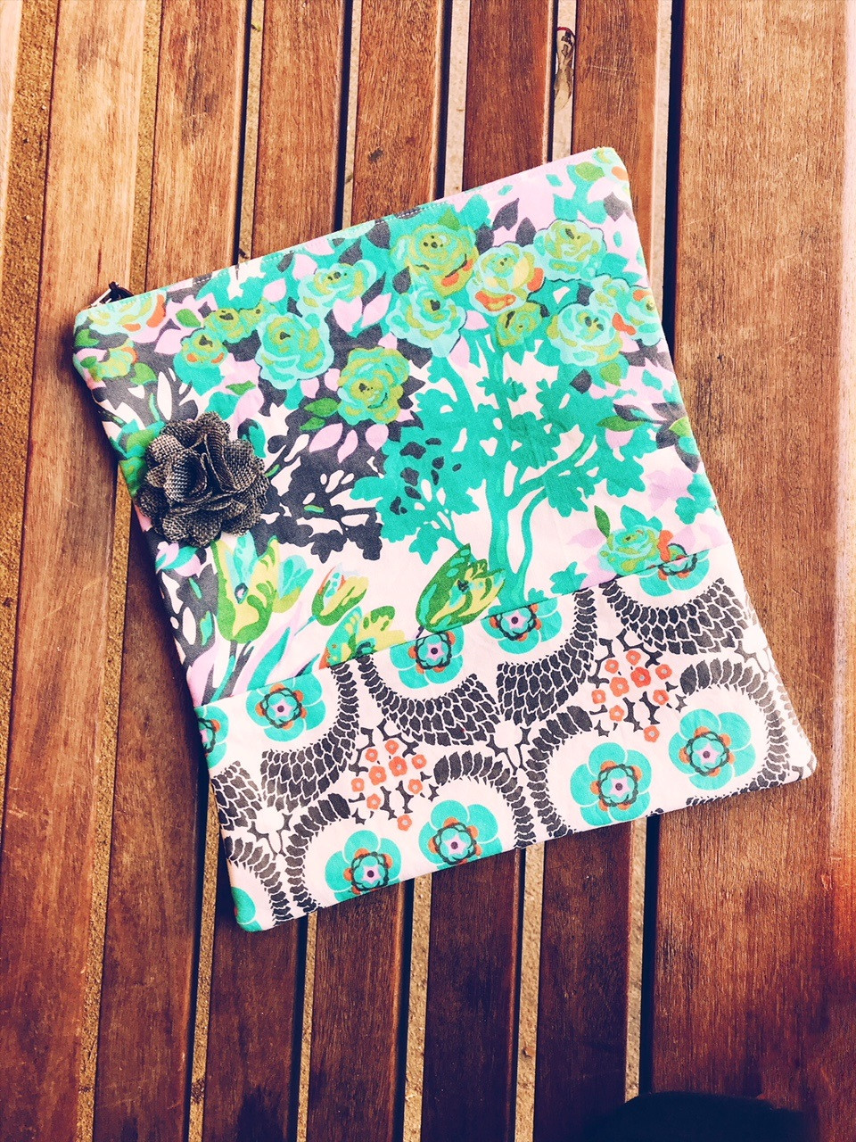 Summer Clutch Bags - Floral