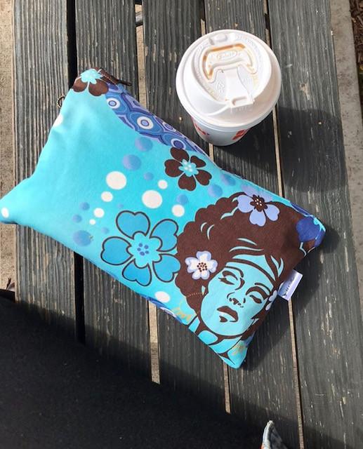 essentials for makeup bag - 60's inspired makeup bag