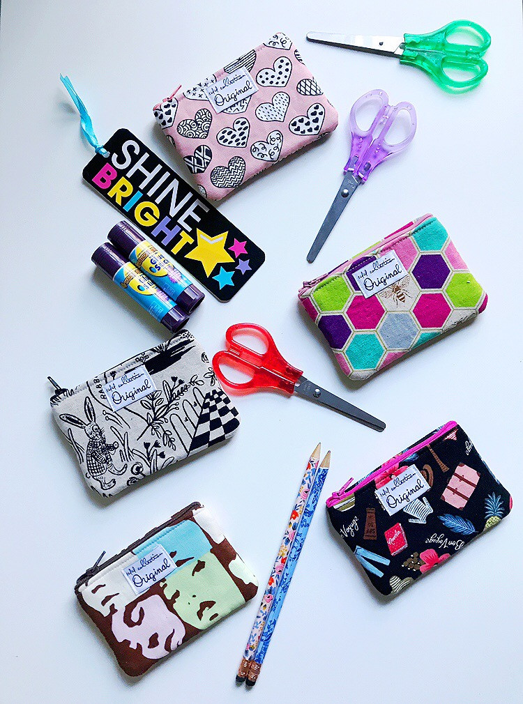 Back to School Girls Coin Purses