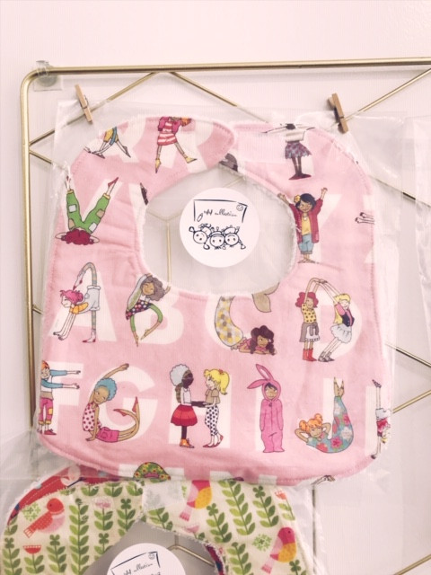 Handmade Bags, Baby Bibs and Accessories - Baby Girl Bib