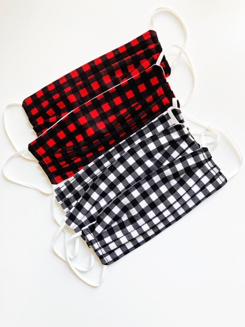 cotton-masks-black-plaid