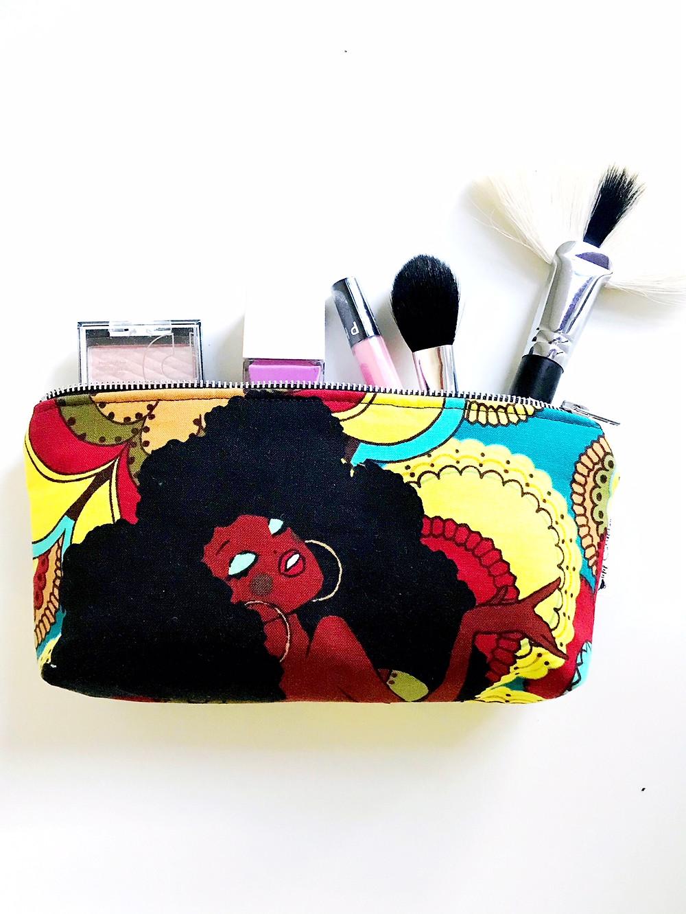 Soul Sisters Makeup Bag front view