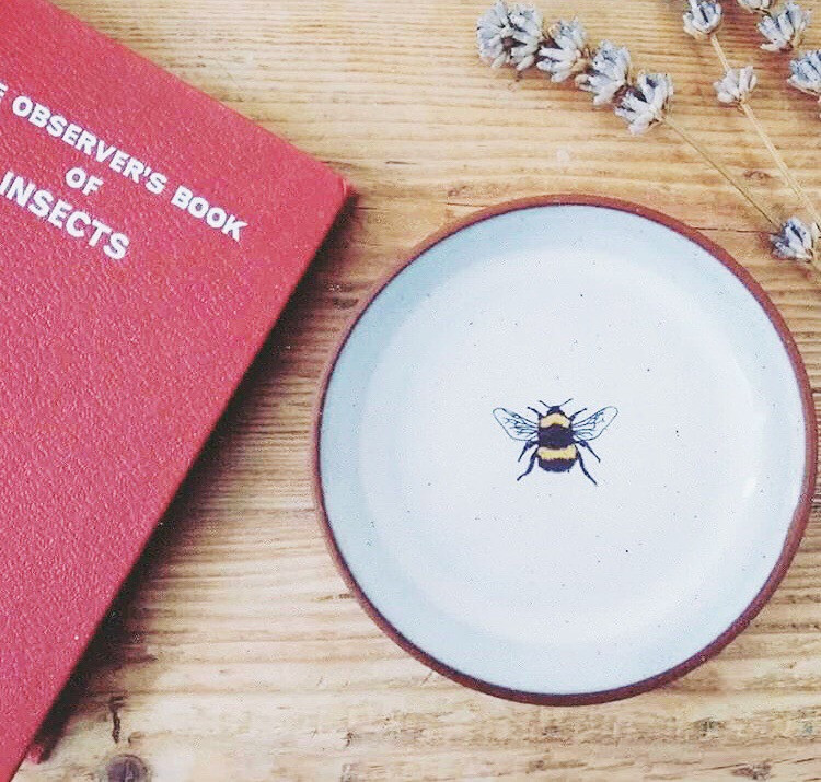 Bee Inspired Plate