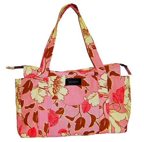 Handmade bag - Pink Floral Print