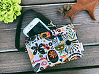 Fabric Wallet, Wristlet Wallet for Women