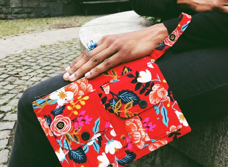 You Need This Red Wristlet Bag This Fall
