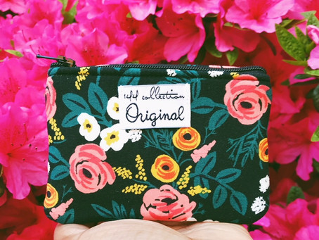 Floral Coin Purse Wallet