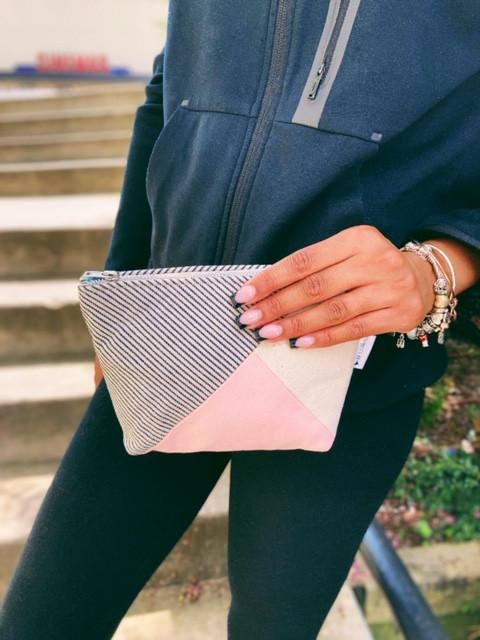Amazon Prime - Pink Cotton Canvas Bag