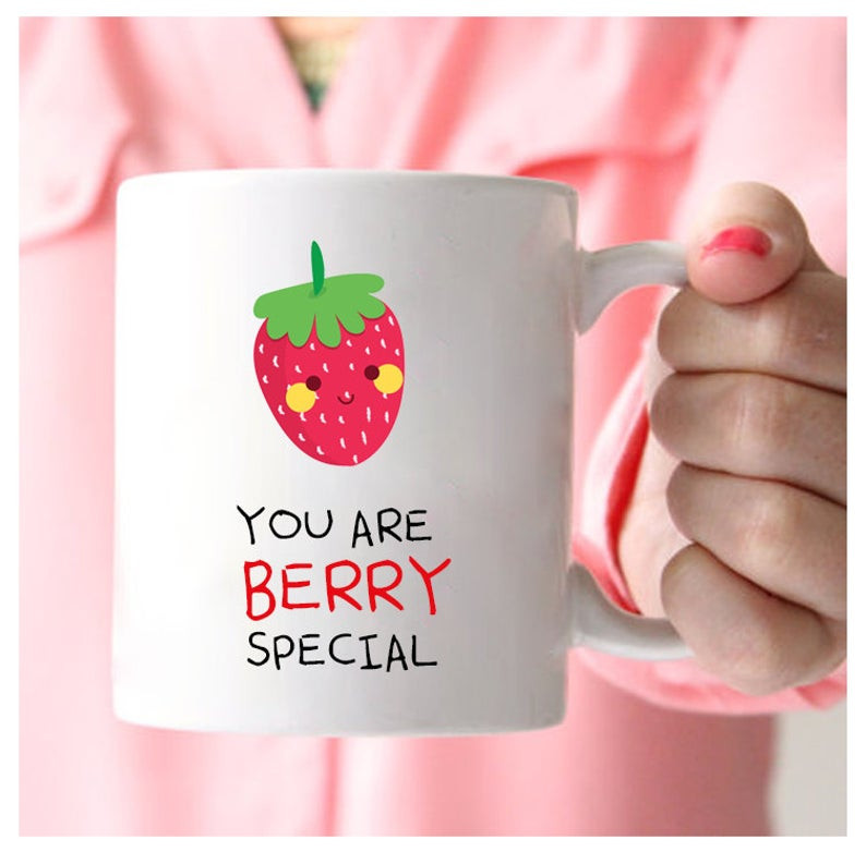 Strawberry Print Gifts - Mug