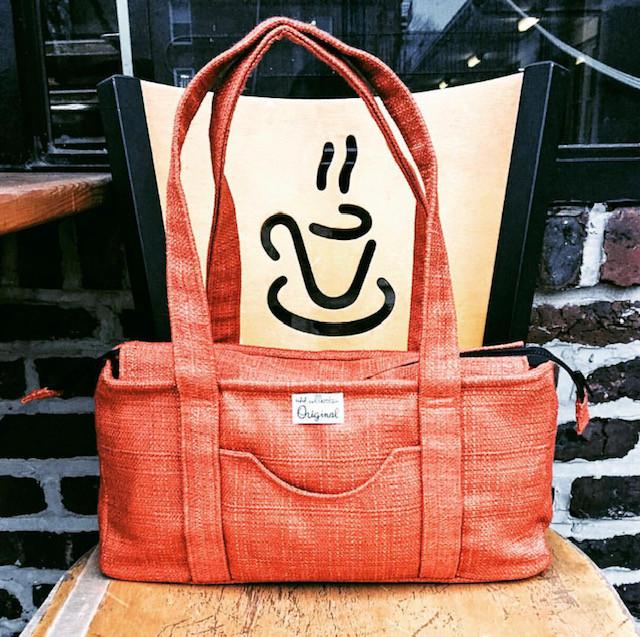 Handmade Handbag - Burnt Orange