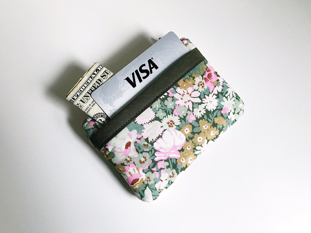 Handbags Made in the USA - Floral Coin Purse