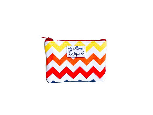 Chevron Coin Purse