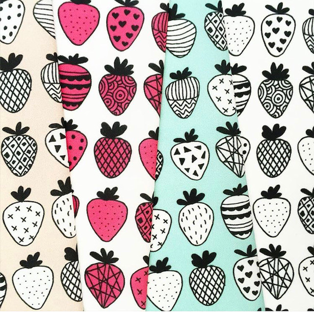 Strawberry Print Gifts - Fabric
