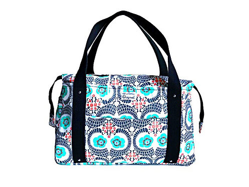 Floral Twist Tote Bag
