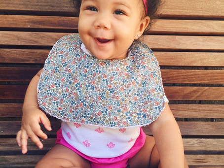Hey Baby! Cute Baby Girl Bibs for Your Little Lady