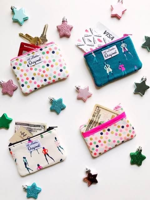 Stocking stuffers for her ideas - coin purses