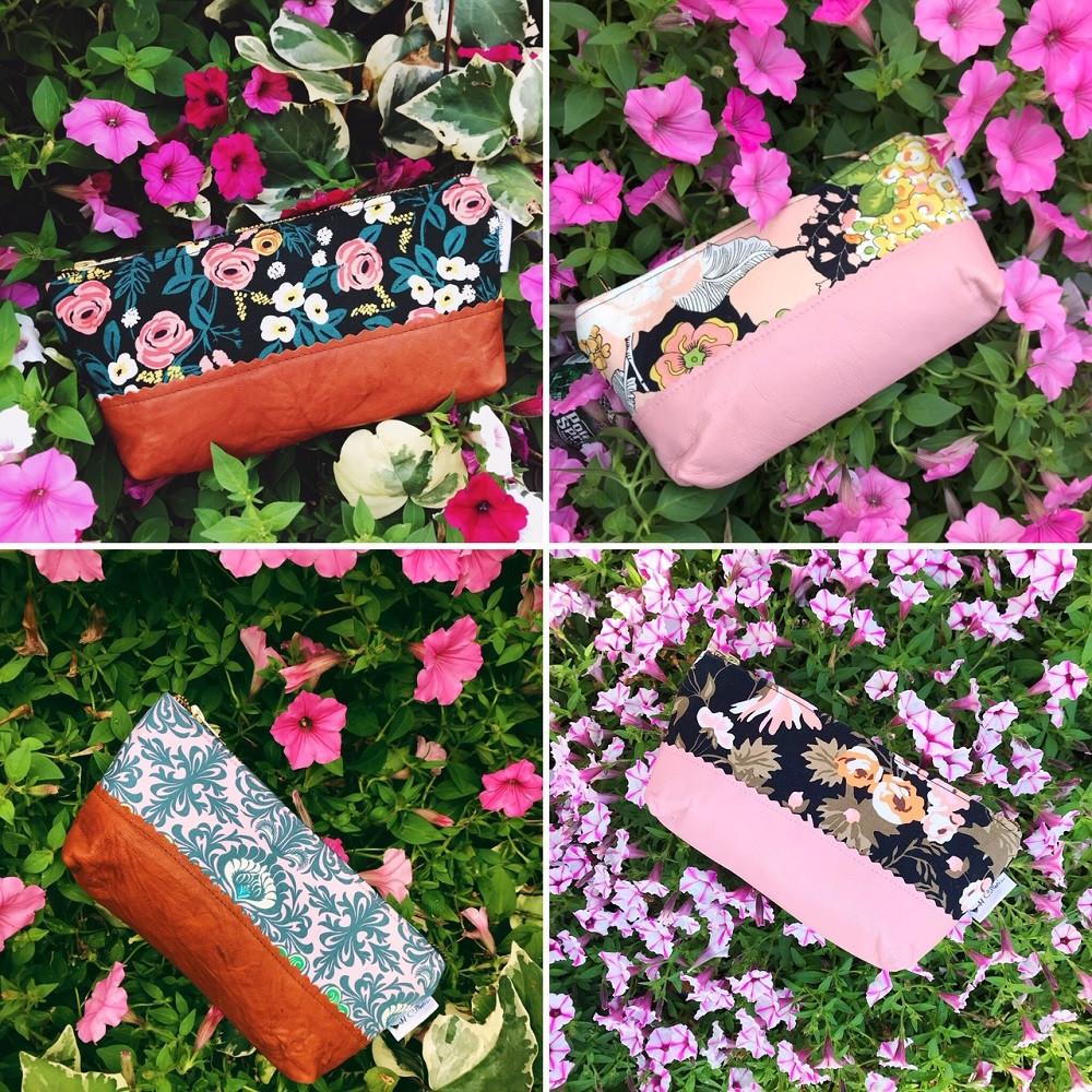 Floral Makeup Bags