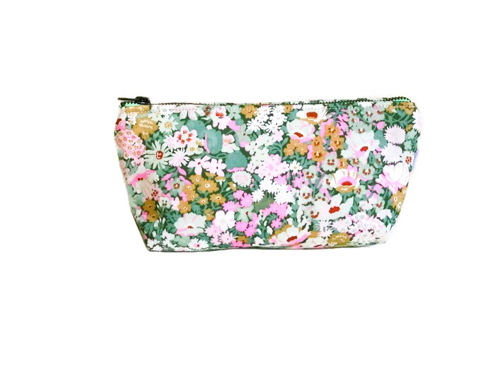 Cosmetic Bags for Purse - flower print