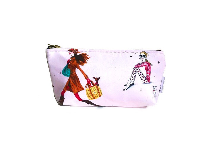Cosmetic Bags for Purse - Fashion Print