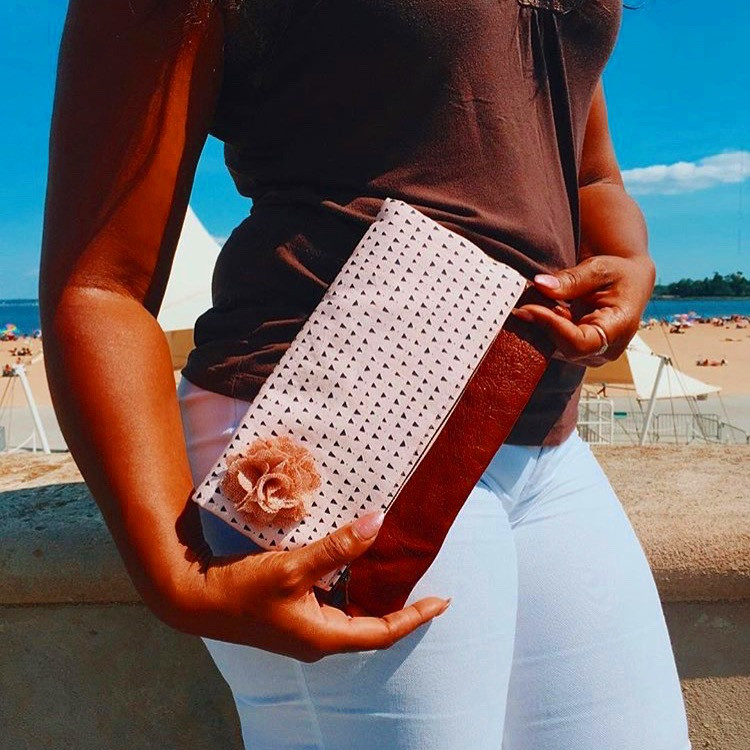 Summer Clutch Bags - Pink