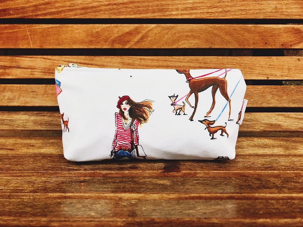 Handmade Bag - Cool Girls Who Makeup Bag
