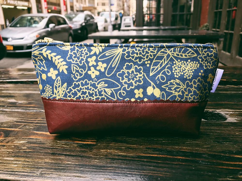 Handmade Bag – with leather bottom