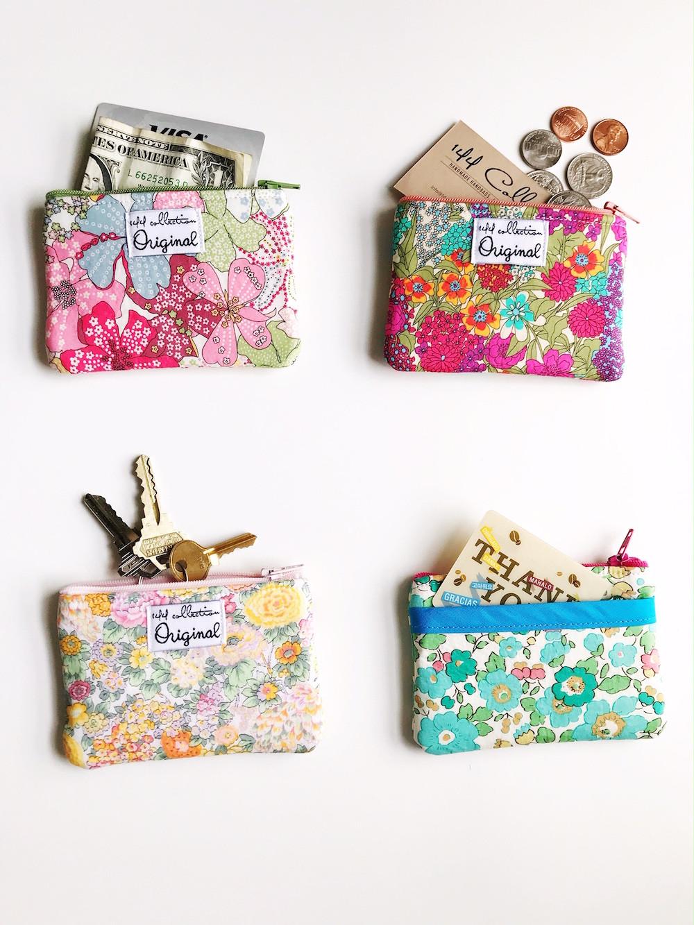 Change Purses - Floral Print