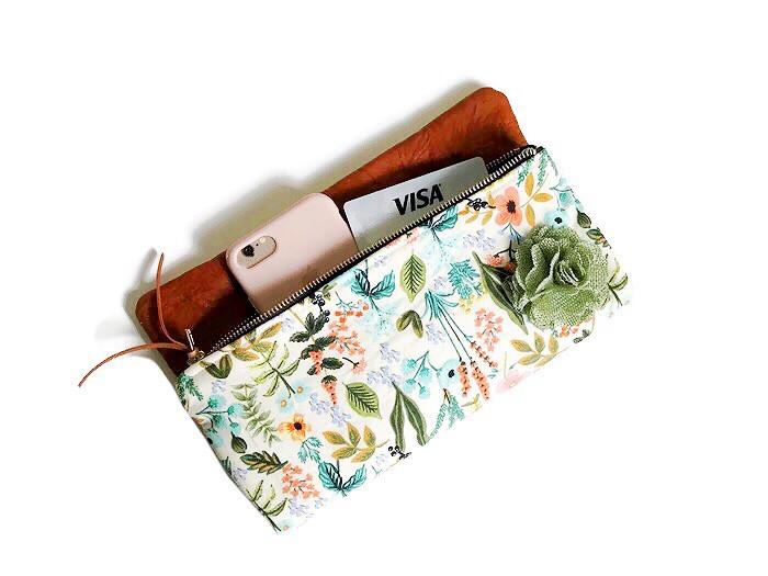 Summer Clutch Bags - Floral Print