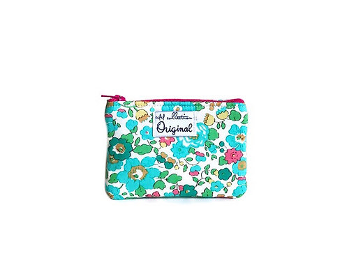 Betsy Turquoise Coin Purse Wallet