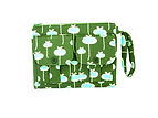 Wallet Wristlet - Olive Green Fresh Mead
