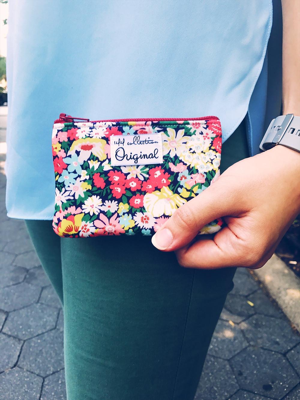 Handmade Coin Purse - Floral Print